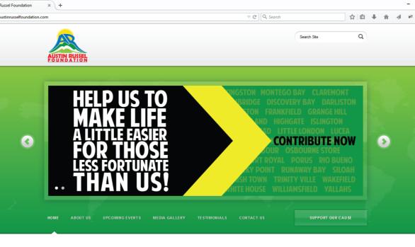 Austin Russel Foundation Website