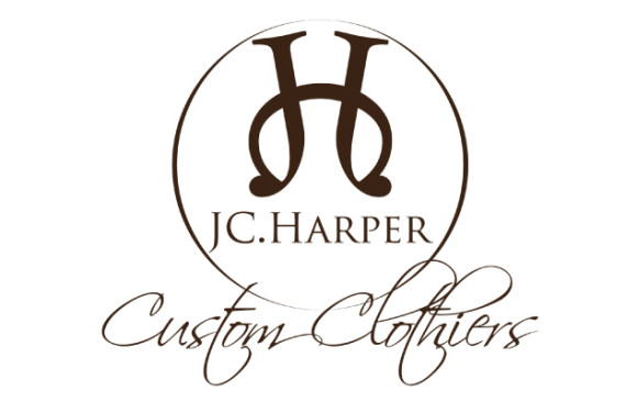 JC Harper Clothiers Logo Design
