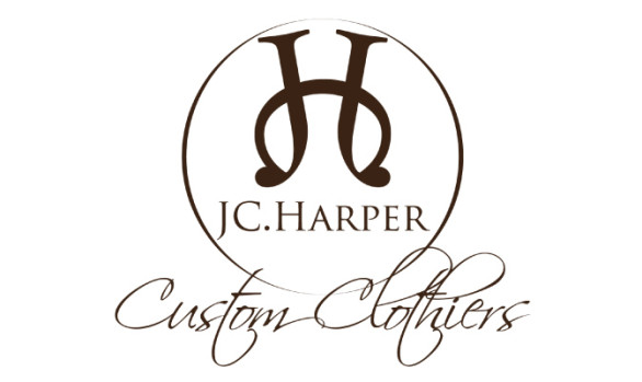 JC Harper Clothiers Logo Design